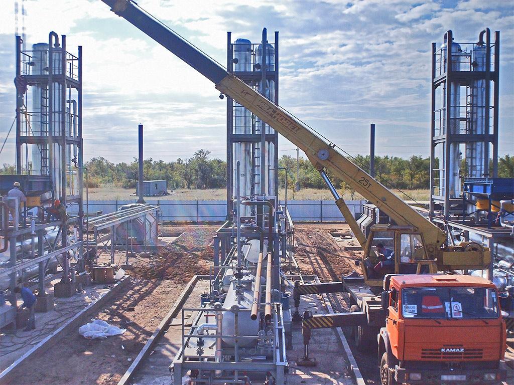 строительство мини нпз