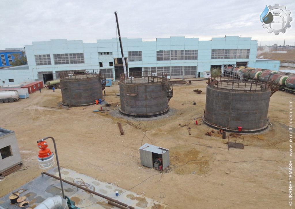 construction oil refinery in Kazakhstan