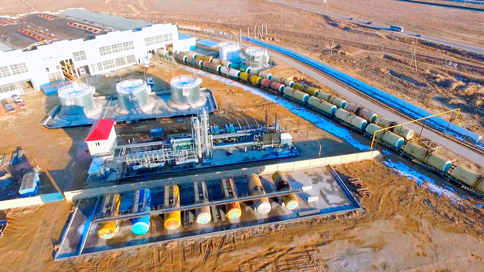 купить миниНПЗ, нефтеперерабатывающий завод