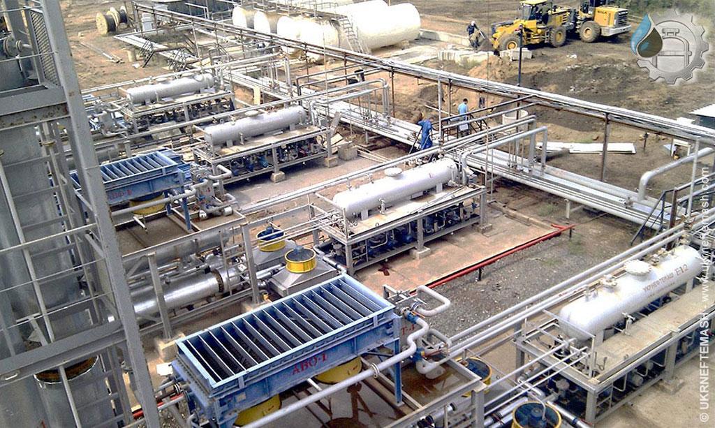 oil refinery in Кazakhstan
