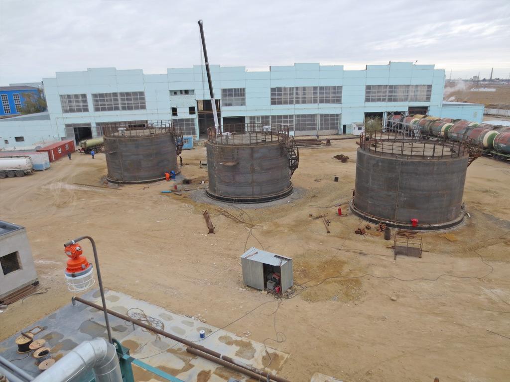 строительство нпз в Казахстане