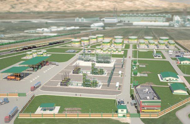Mini refinery engineering  in Tadzhikistan