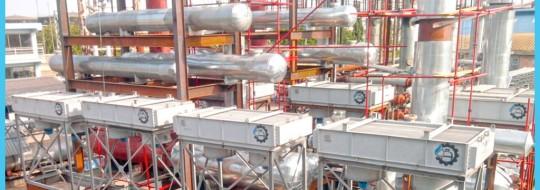 Производство установок по переработке нефти