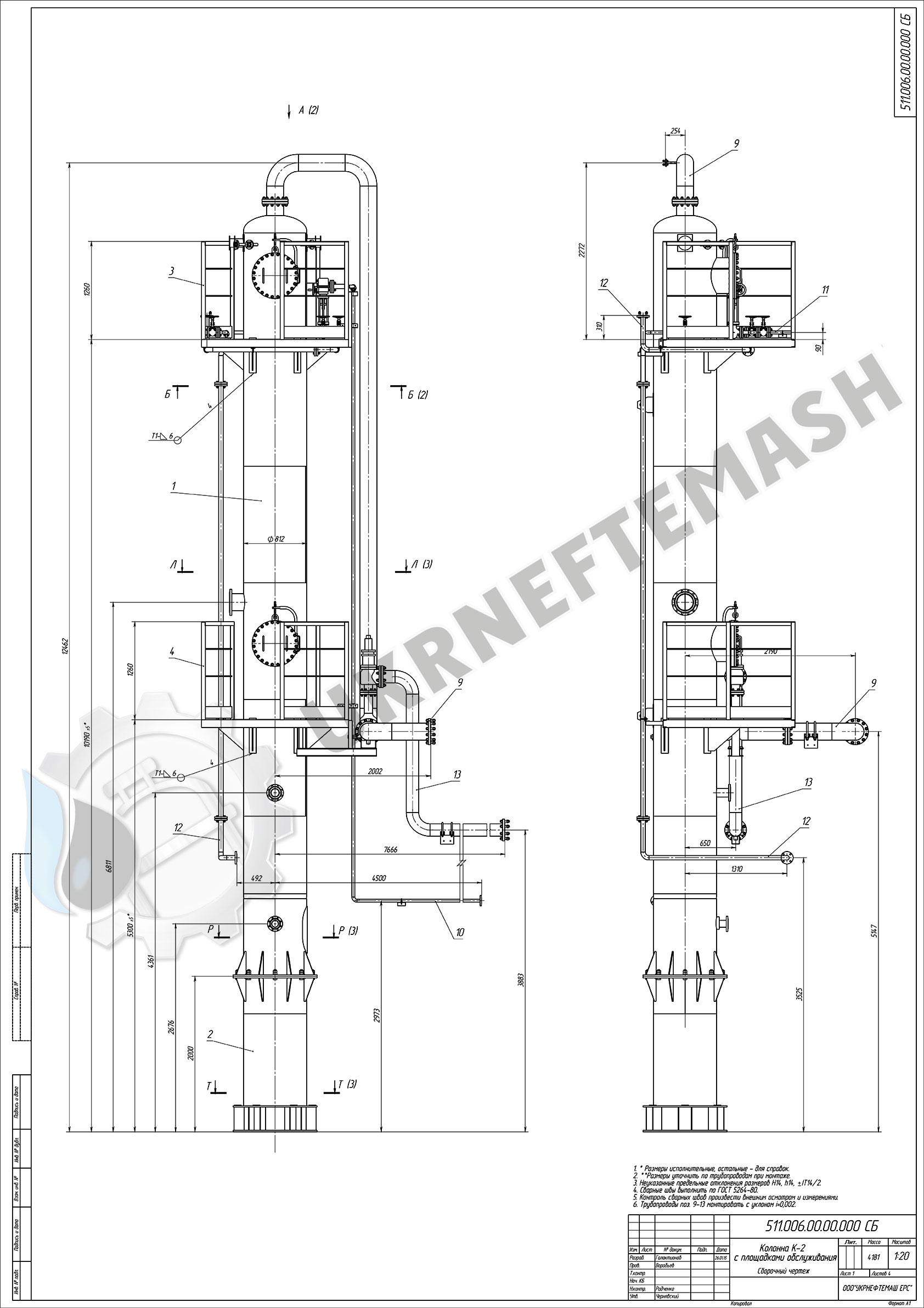 kolonna-rectifikacionnaya-800-h900